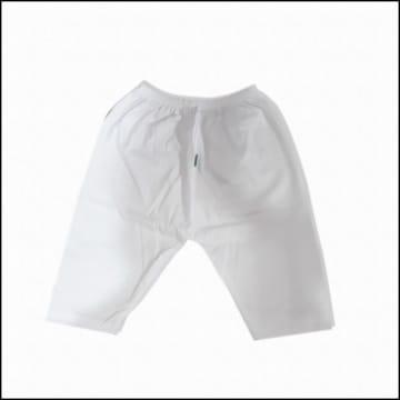 Cute Baby -White Long Pants (0-3M)