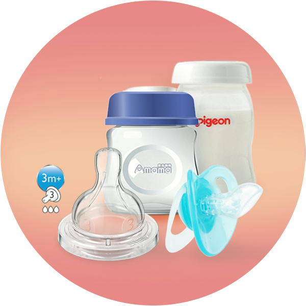 Pacifier, Teether & Feeder