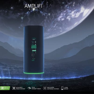 AmpliFi Alien – TriBand WiFi 6 Router startet nun auch in Europa techboys.de • smarte News, auf den Punkt!