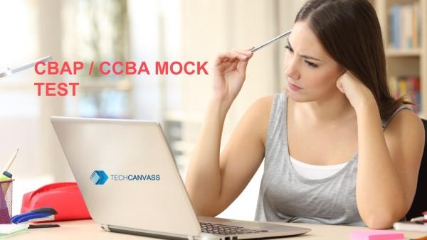 CBAP Mock Test