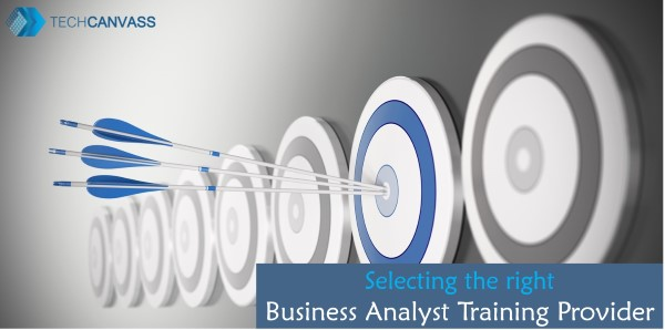 Selecting the right business analyst training provider