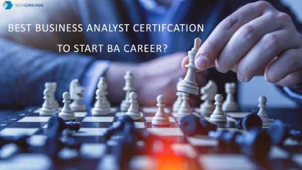 Best Business Analyst Certification