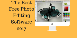 The Best Free Photo editing software 2017