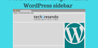 WordPress Knowledge: What is WordPress sidebar