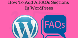 How To Add A FAQs(Frequently Asked Questions) In WordPress