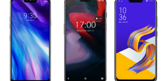 LG G7 Plus ThinQ vs OnePlus 6 vs Asus ZenFone 5Z: Price, Feature and Full Spec comparison