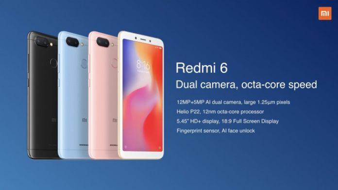 Xiaomi Redmi 6 First Sale Today: At 12 PM Via Fllipkart, Mi.com
