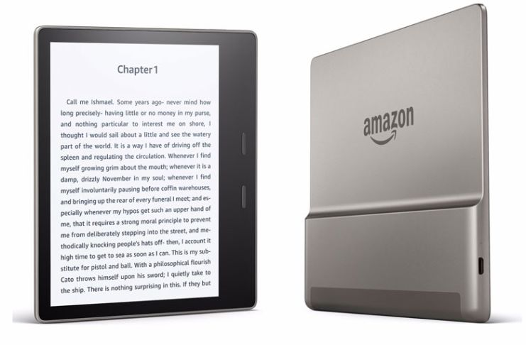 Kindle Oasis : Amazon finally launches a $250waterproof, 7-inch e-readerwith metal chassis and Audible playback