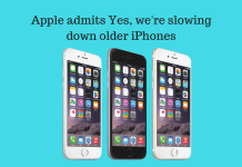 Apple admits Yes, we're slowing down older iPhones because of ageing batteries