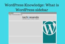 WordPress Knowledge: What is WordPress sidebar