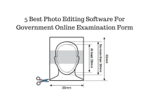 How To Edit Photos For Government Online Examination Form - 5 Best Photo Editing Software