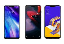 LG G7 Plus ThinQ vs OnePlus 6 vs Asus ZenFone 5Z: Price, Feature and Full Spec comparison