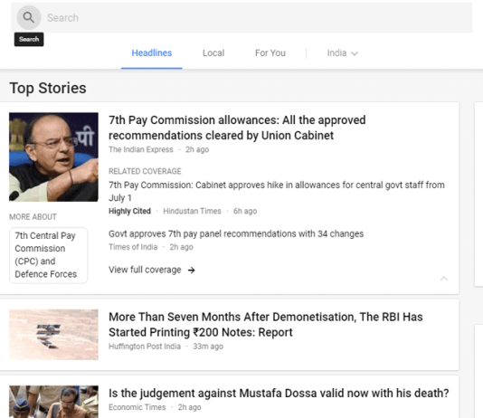 Google News website gets a much-needed redesign