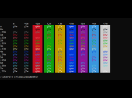 Microsoft is updating the Windows Console colors