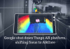 Google shut down Tango AR platform, shifting focus to ARCore