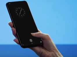 Vivo: The First Smartphone With a Fingerprint Sensor Under The Display