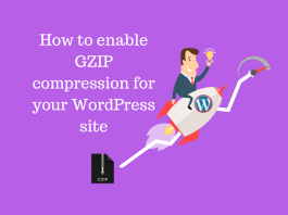 How to enable GZIP compression for your WordPress site