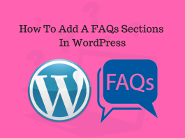 How To Add A FAQs (Frequently Asked Questions) In WordPress