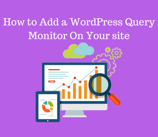 How to Add a WordPress Query Monitor On Your Website