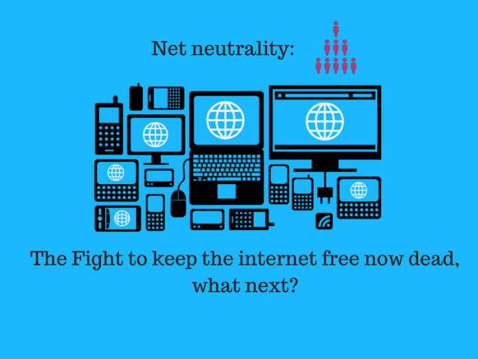 Net neutrality: fight to keep the internet free now dead, what next?