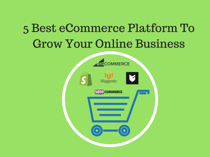 5 Best eCommerce Platform To Grow Your Online Business 2018