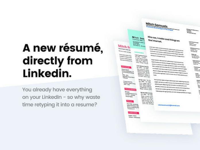 Ceev: How To Generate CV (Curriculum Vitae) Through LinkedInProfile