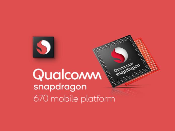 Qualcomm Announces Snapdragon 670:Double AI performance, power efficiency for mobile devices