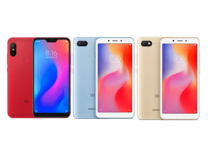 Xiaomi Redmi 6, Redmi 6A, Redmi 6 Pro Launched in India: Price, Full Specifications