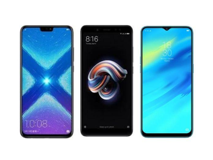 Honor 8X vs Redmi Note 5 Pro vs Realme 2 Pro: Price, Specs And Features Compared