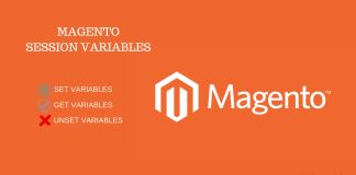 How to set, get and unset session variable in Magento