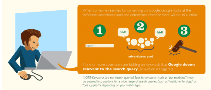 How Much Does Adwords cost Google Ads Auction