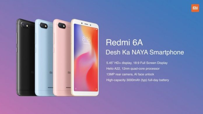Xiaomi Redmi 6, Redmi 6A, Redmi 6 Pro Launched in India: Full Price, Specifications