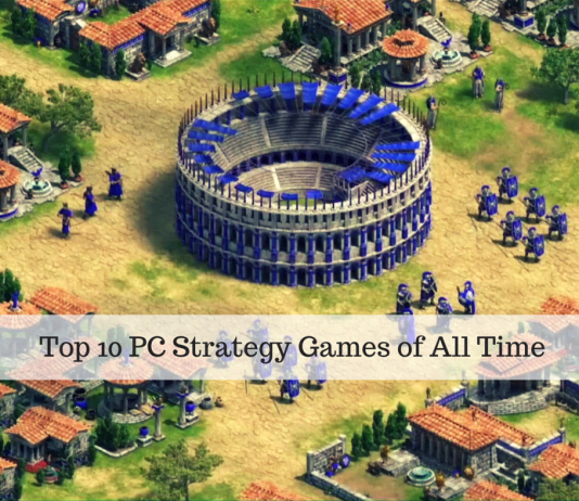 Top 10 PC Strategy Games of All Time
