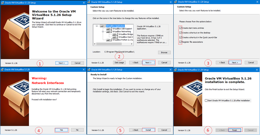 How to install virtual box and create Virtual machine