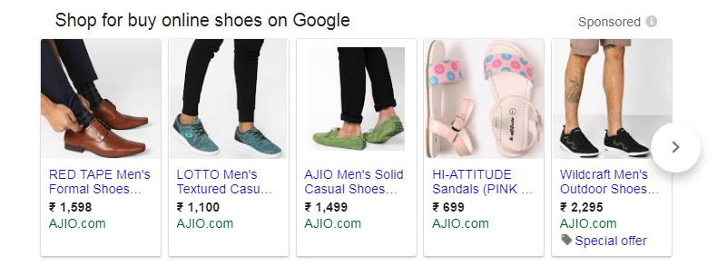 Google Shopping Campaign Ads