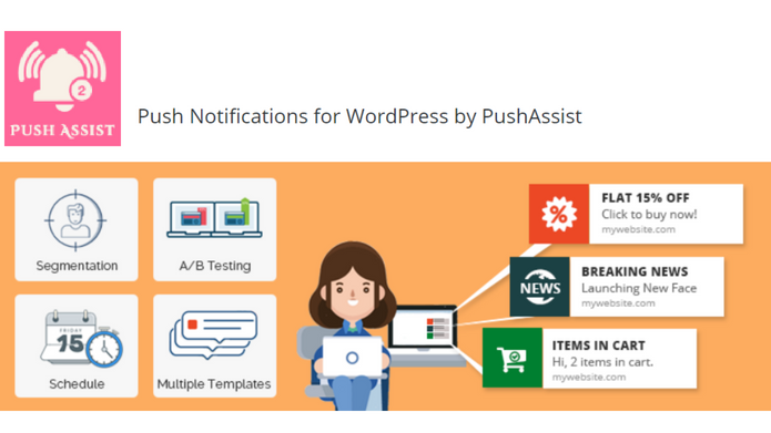 Top 5 WordPress Push Notification Plugins: To Increase your Website Traffic