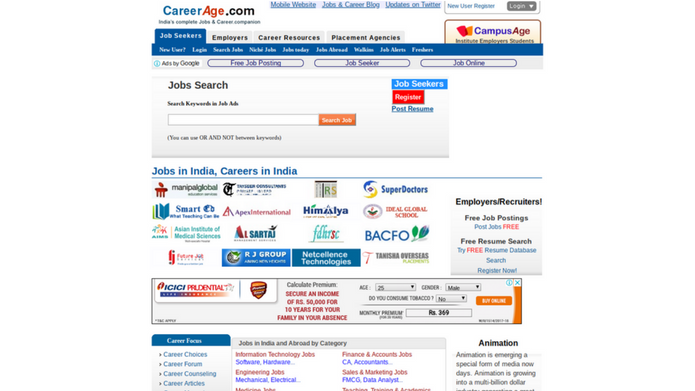 15 Best Job Search Websites 2018 In India-techcresendo