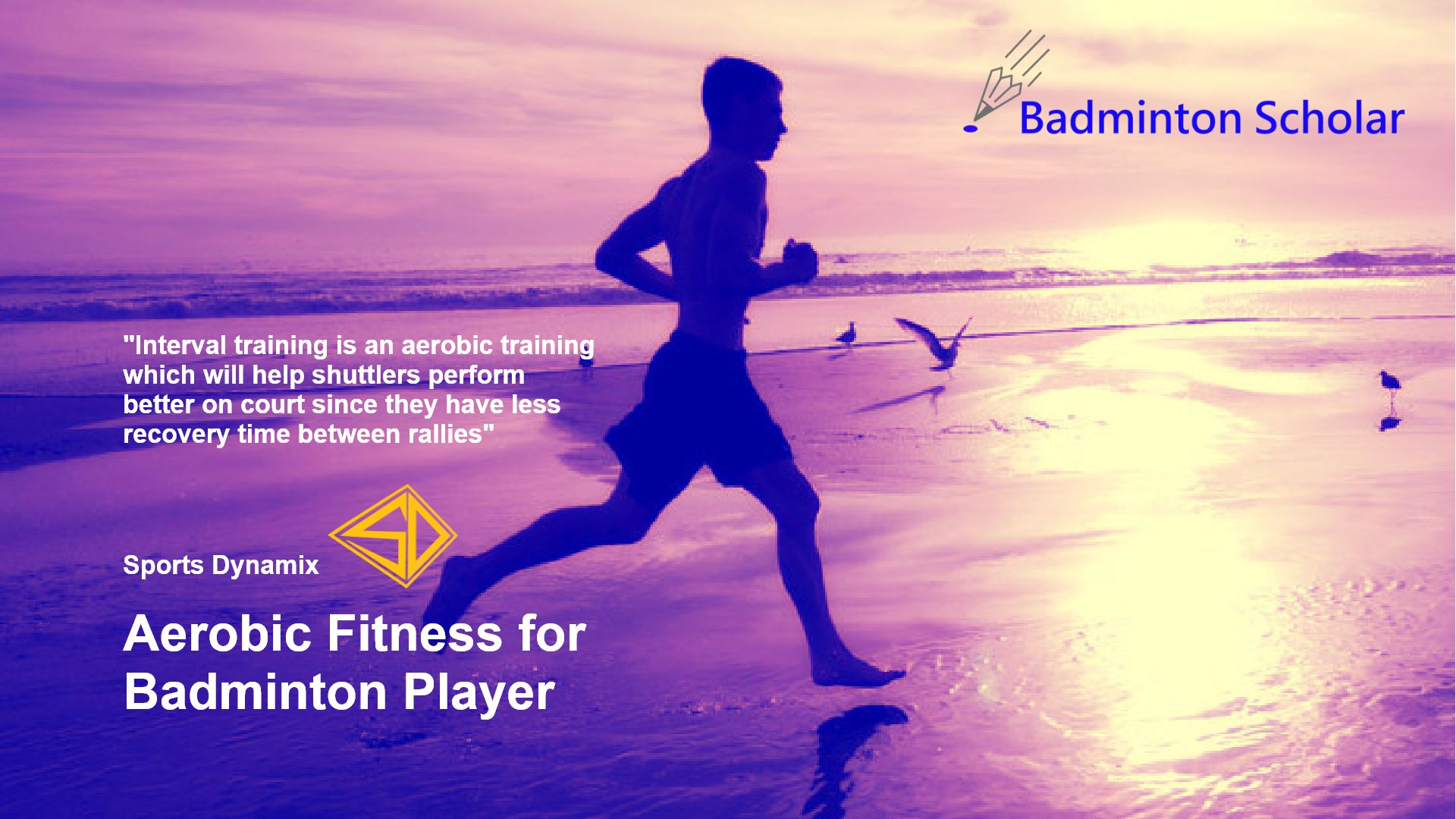 Aerobic (or endurance) fitness for Badminton Player
