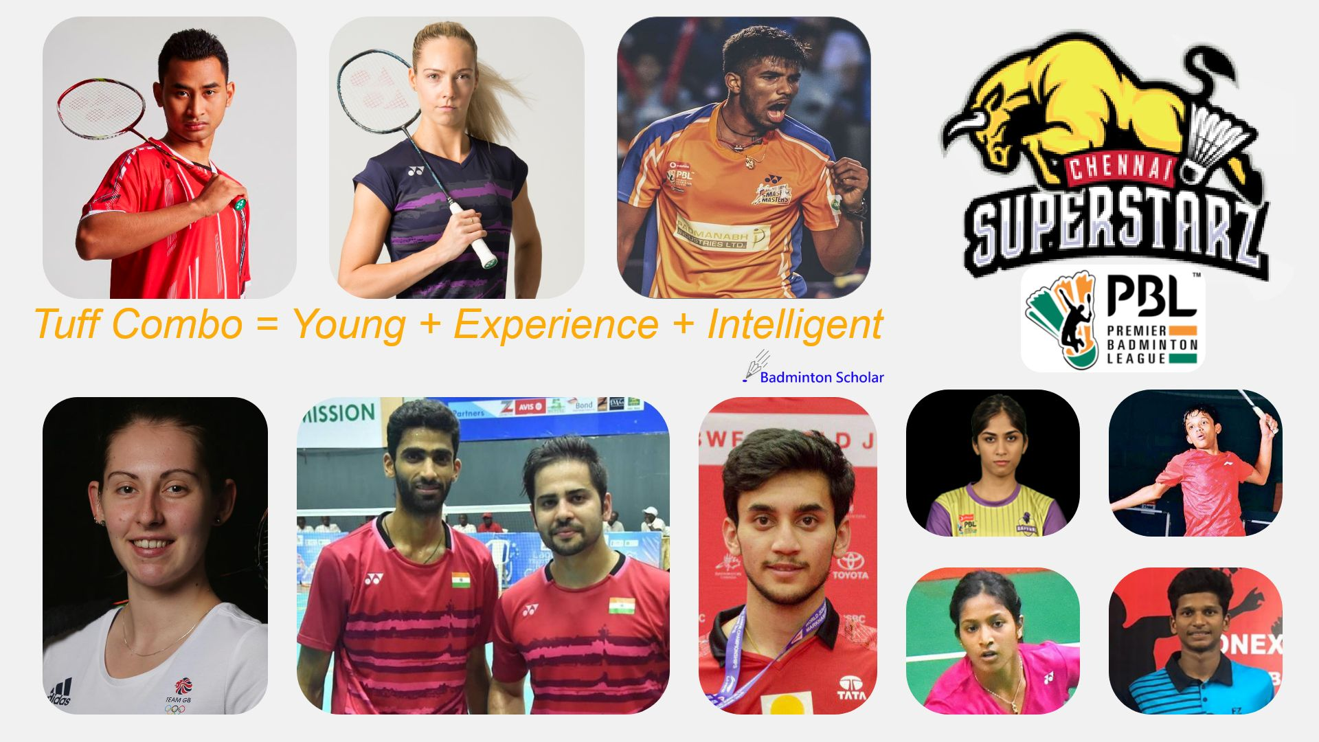Chennai Superstarz trump matches would be XD or MD matches during PBL Season 5
