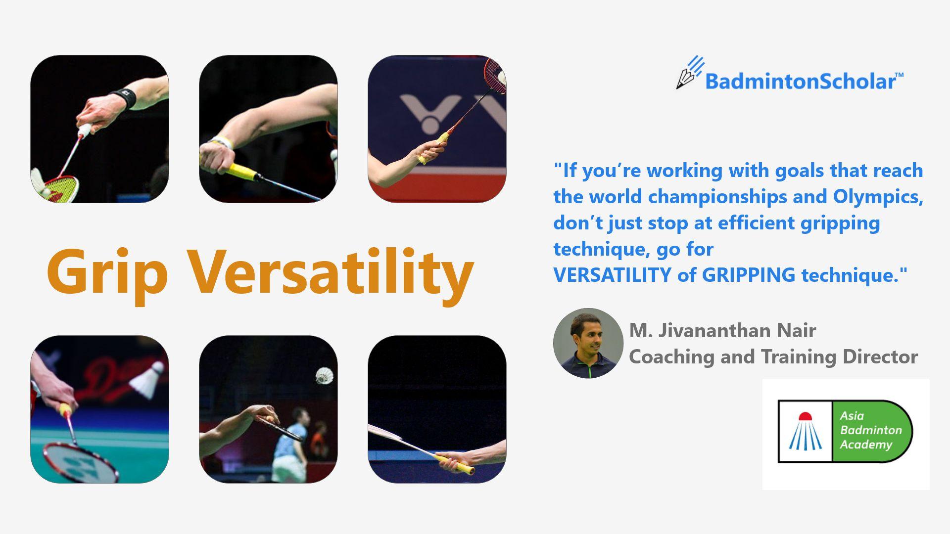 Grip Versatility