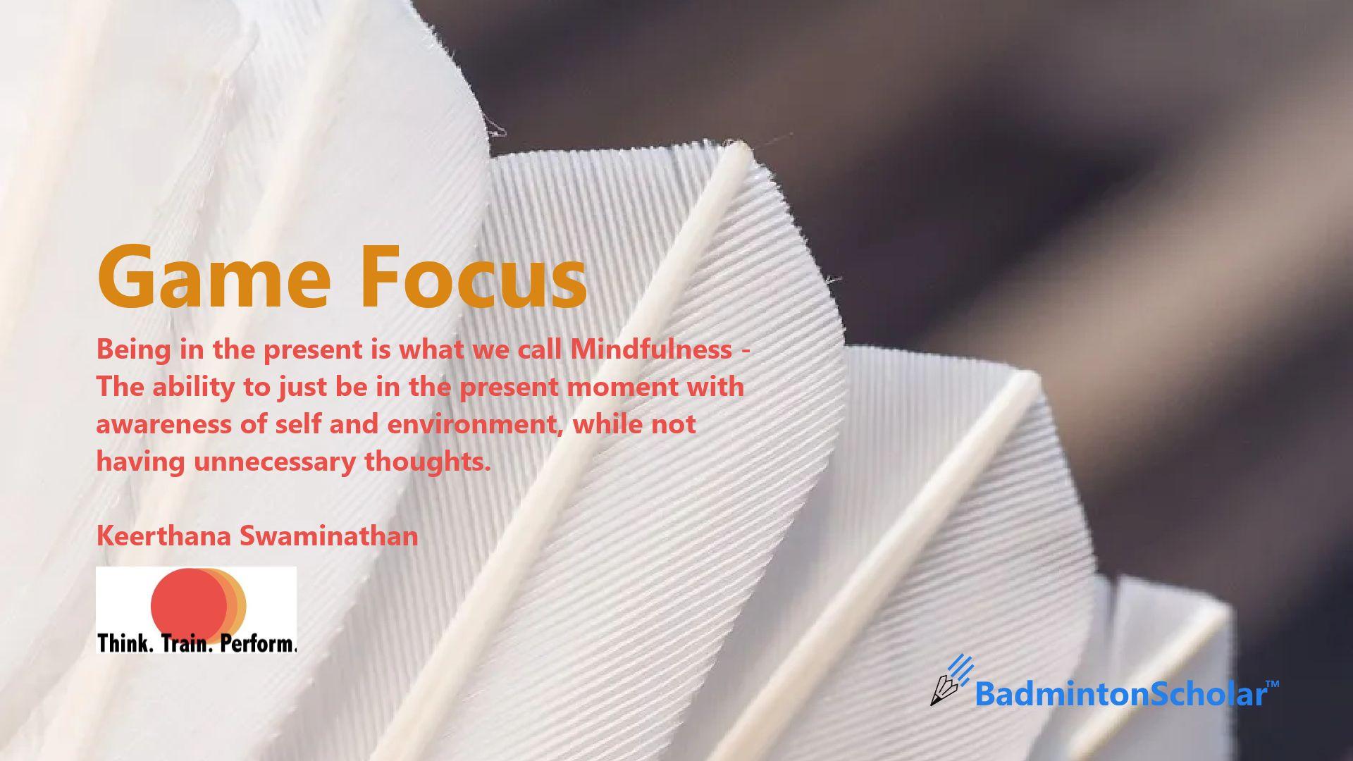 Game Focus