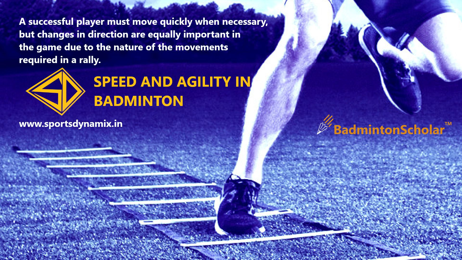 Speed and Agility in Badminton