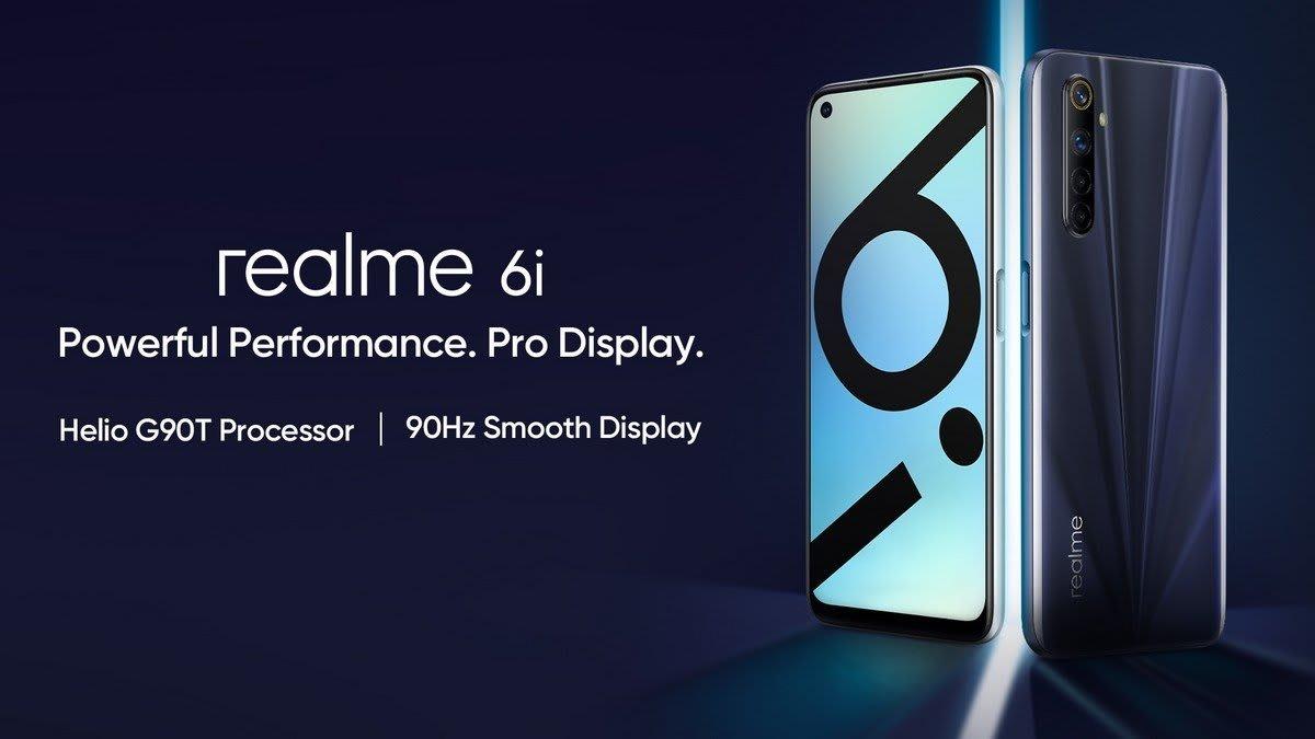 Realme 6i official image