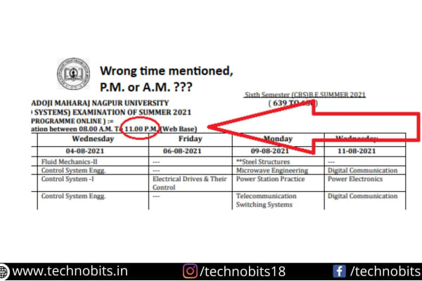 Alert!!! Don't do this mistake RTMNU students, You may fail to appear in an online examination.