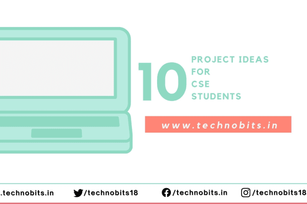 Top 10 project ideas for CS/IT Students