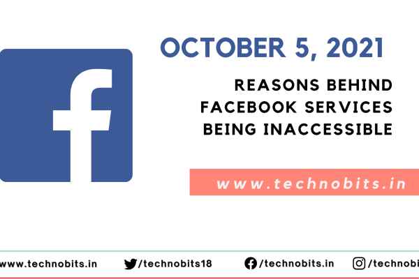 Reasons behind facebook services being inaccessible