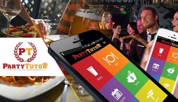 Party Tutor App , Technokriti Solutions LLP , mobile app , android app , ios app , agile development , Deals app , Coupon app