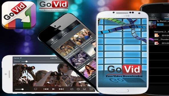 Govid Video Downloader , mobile app , android app , ios app , agile development