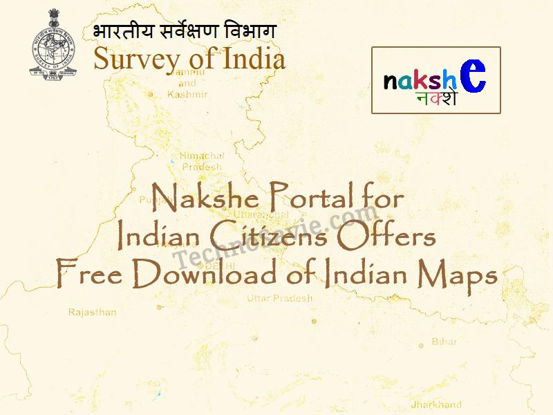 Nakshe Portal by Survey of India