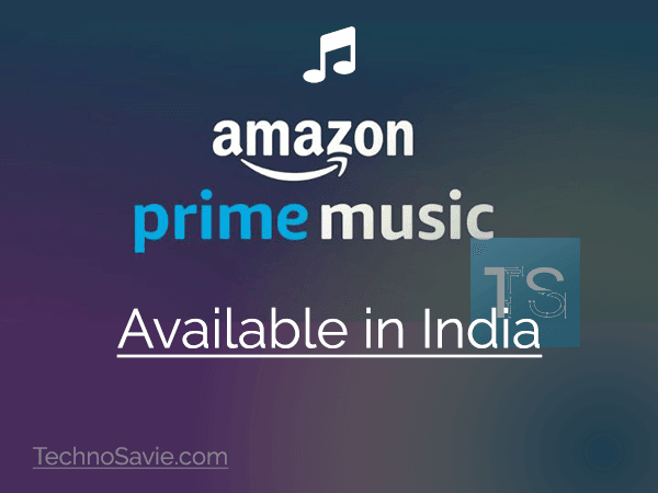Amazon Music now available in India